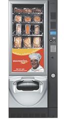 Máquinas Automáticas Vending de Comida quente em Bragança